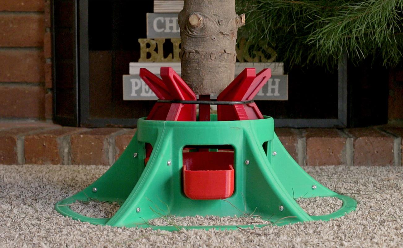 Eazy treezy christmas tree stand gadget flow