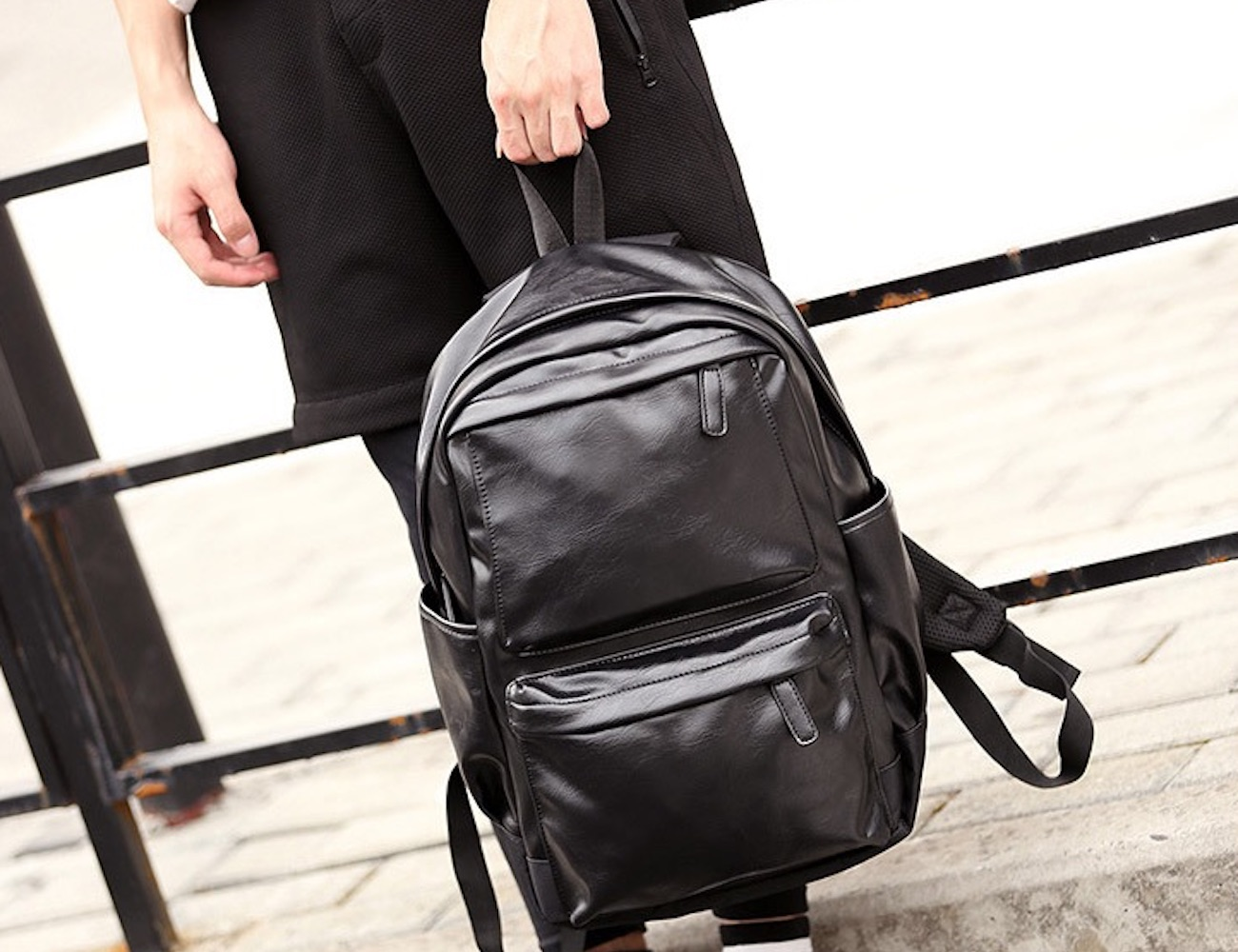 Fashion-Friendly Men's Backpack