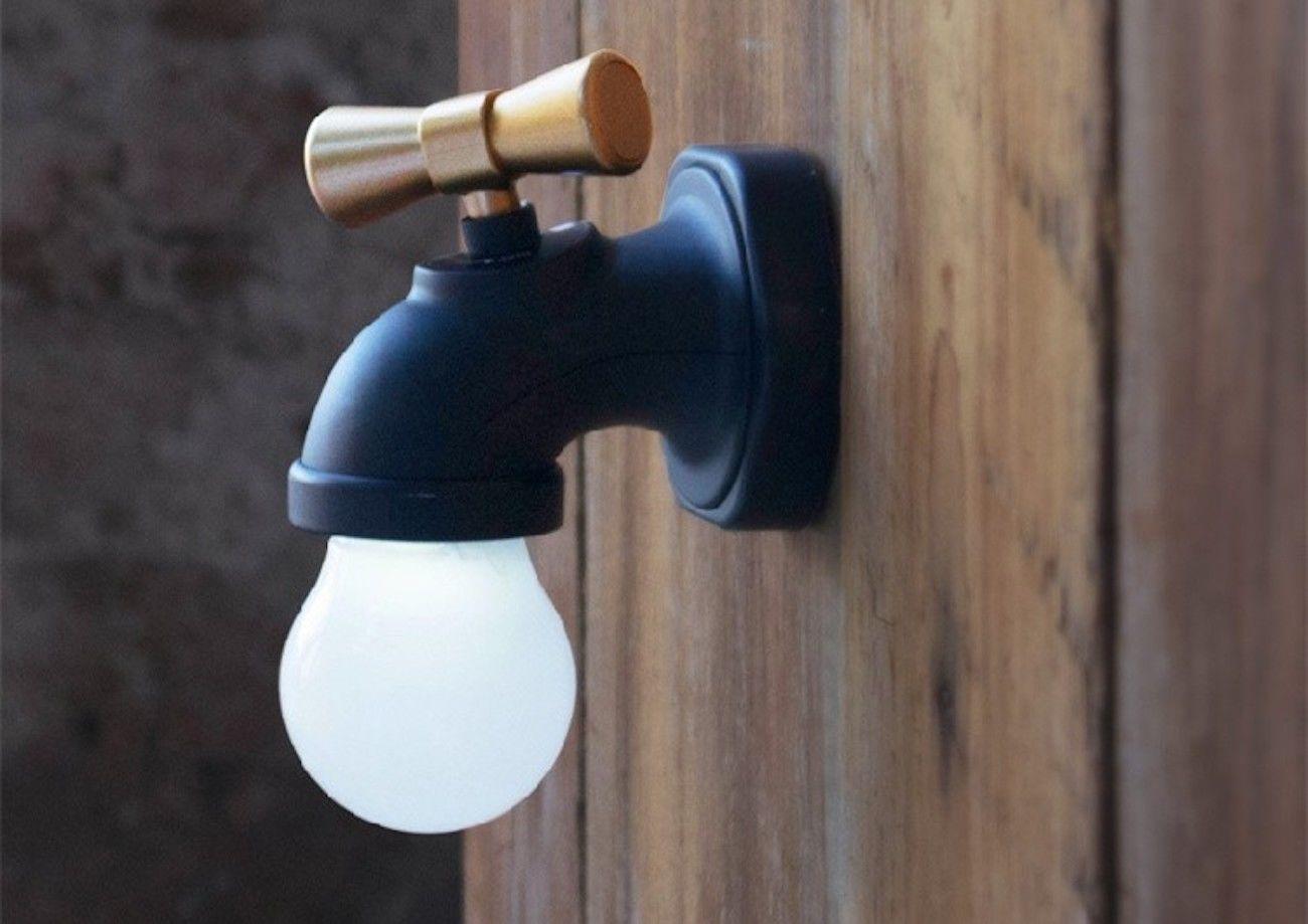 Faucet-Shaped LED Night Lamp