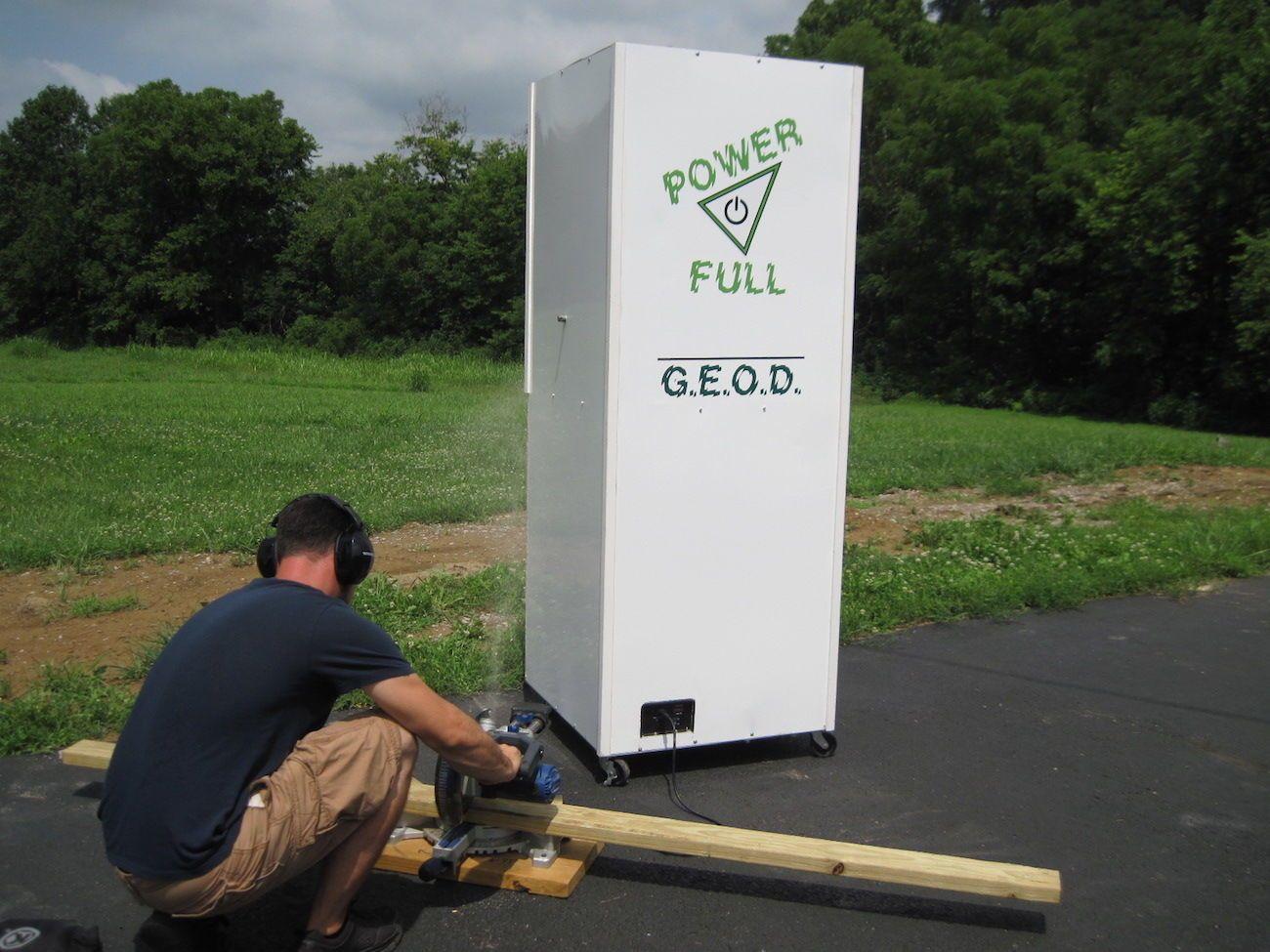 G.E.O.D. Backup Emergency Electric Generator