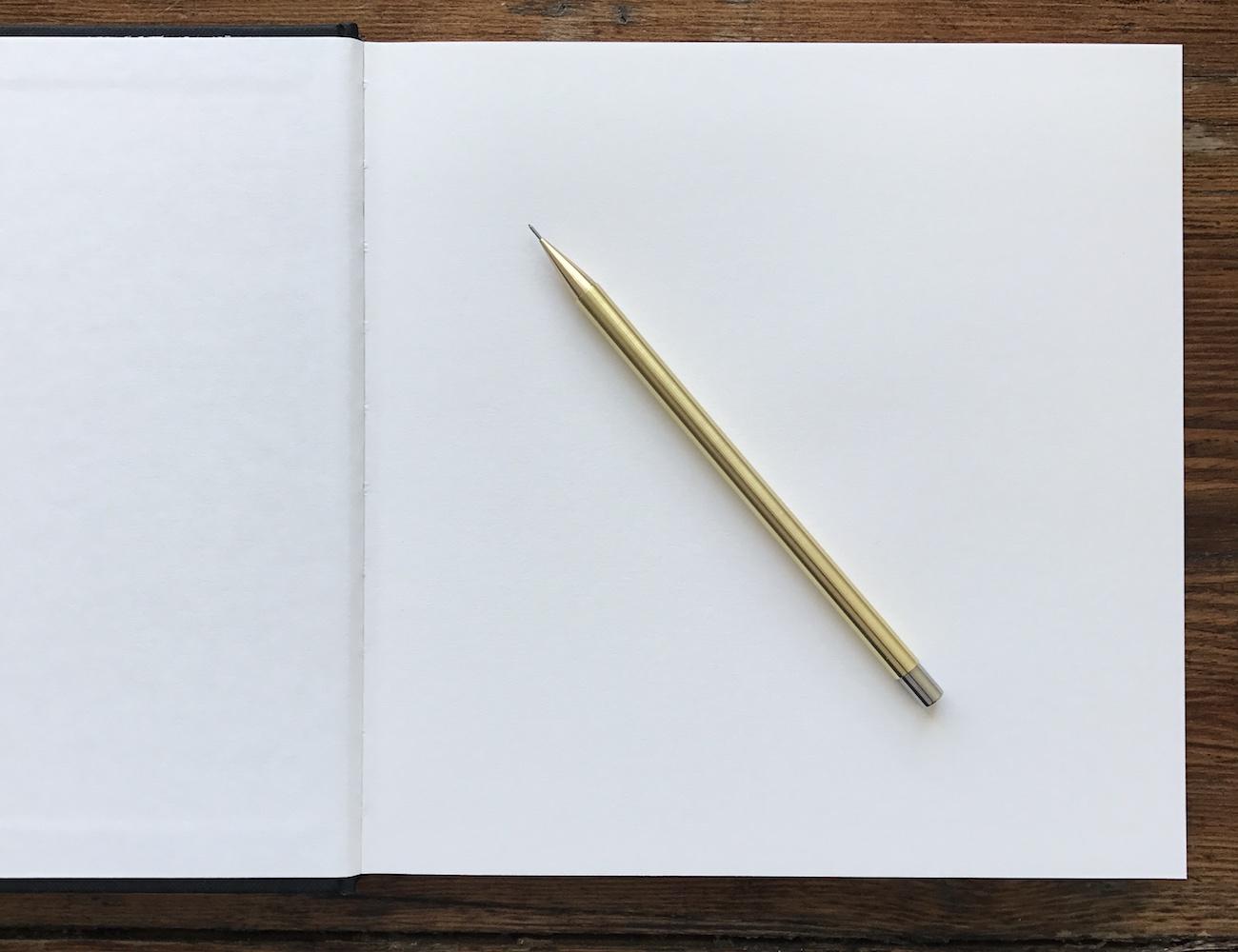 HEMI WORKS Handmade Brass Mechanical Pencil