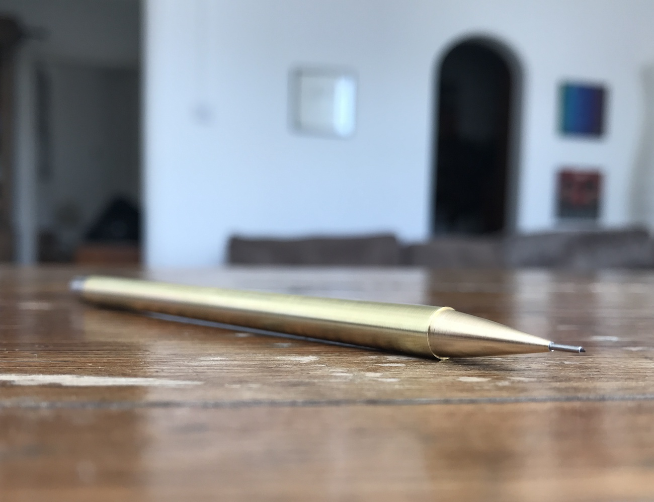 HEMI WORKS Handmade Brass Mechanical Pencil