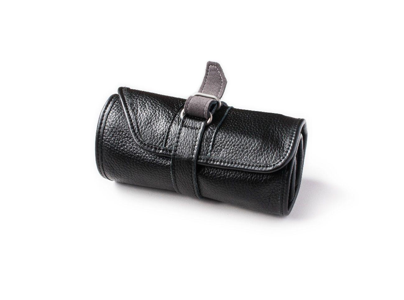 Heavy Duty Leather Watch Storage Roll