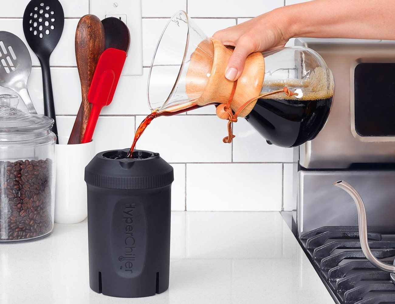 HyperChiller Instant Iced Coffee Maker