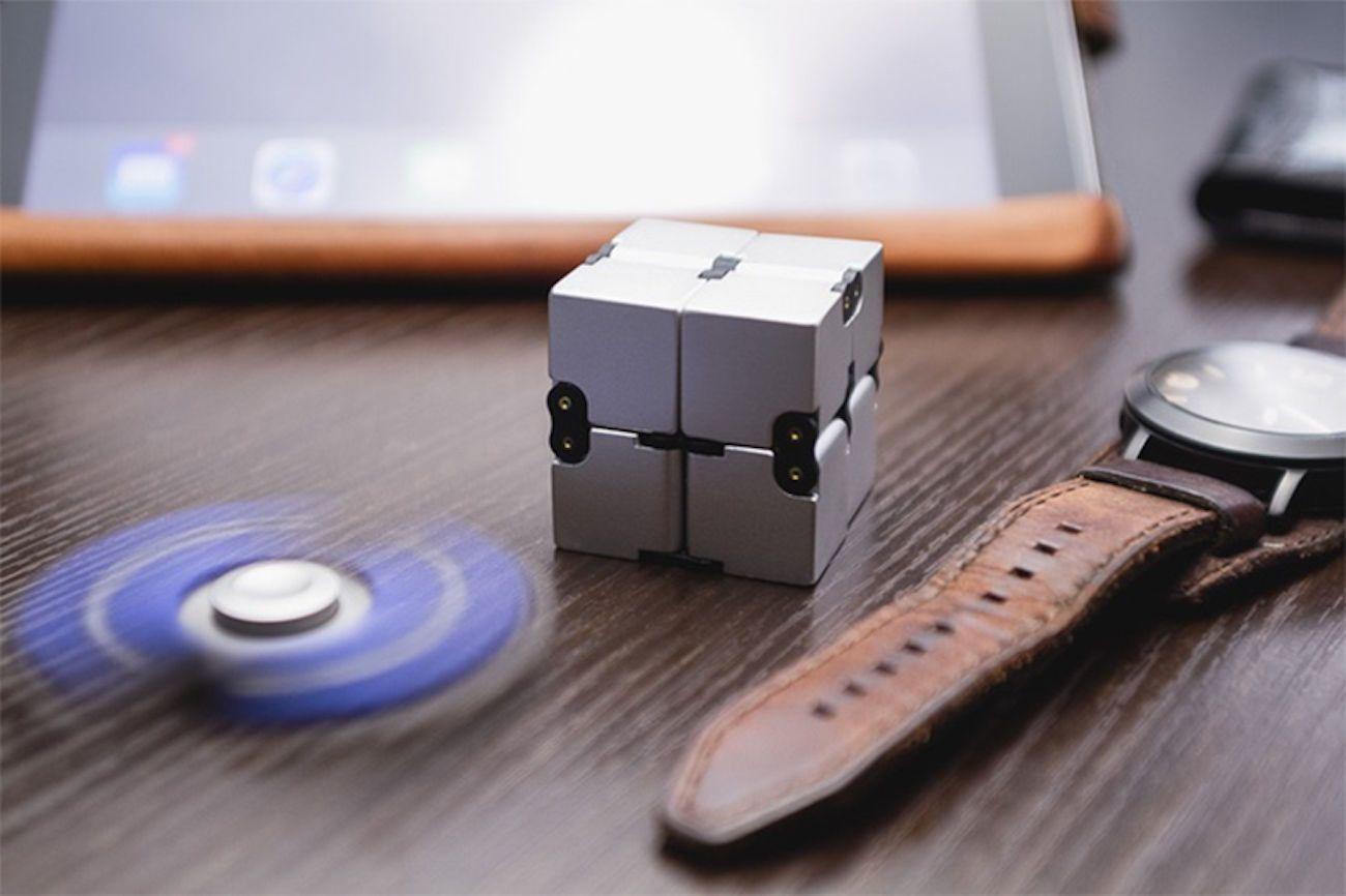 Infinity Cube Aluminum Fidget Toy