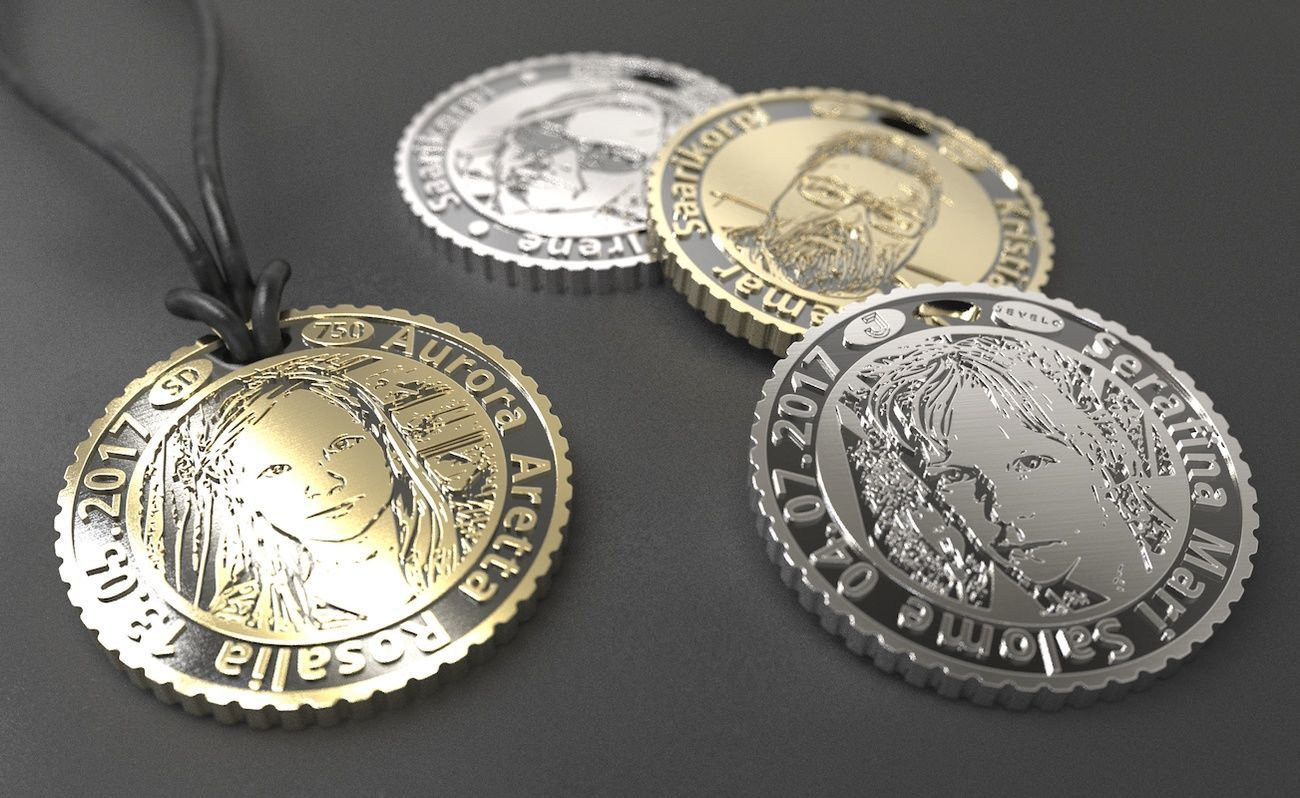 Jevelo Coin Custom Jewelry Makes a Unique Gift
