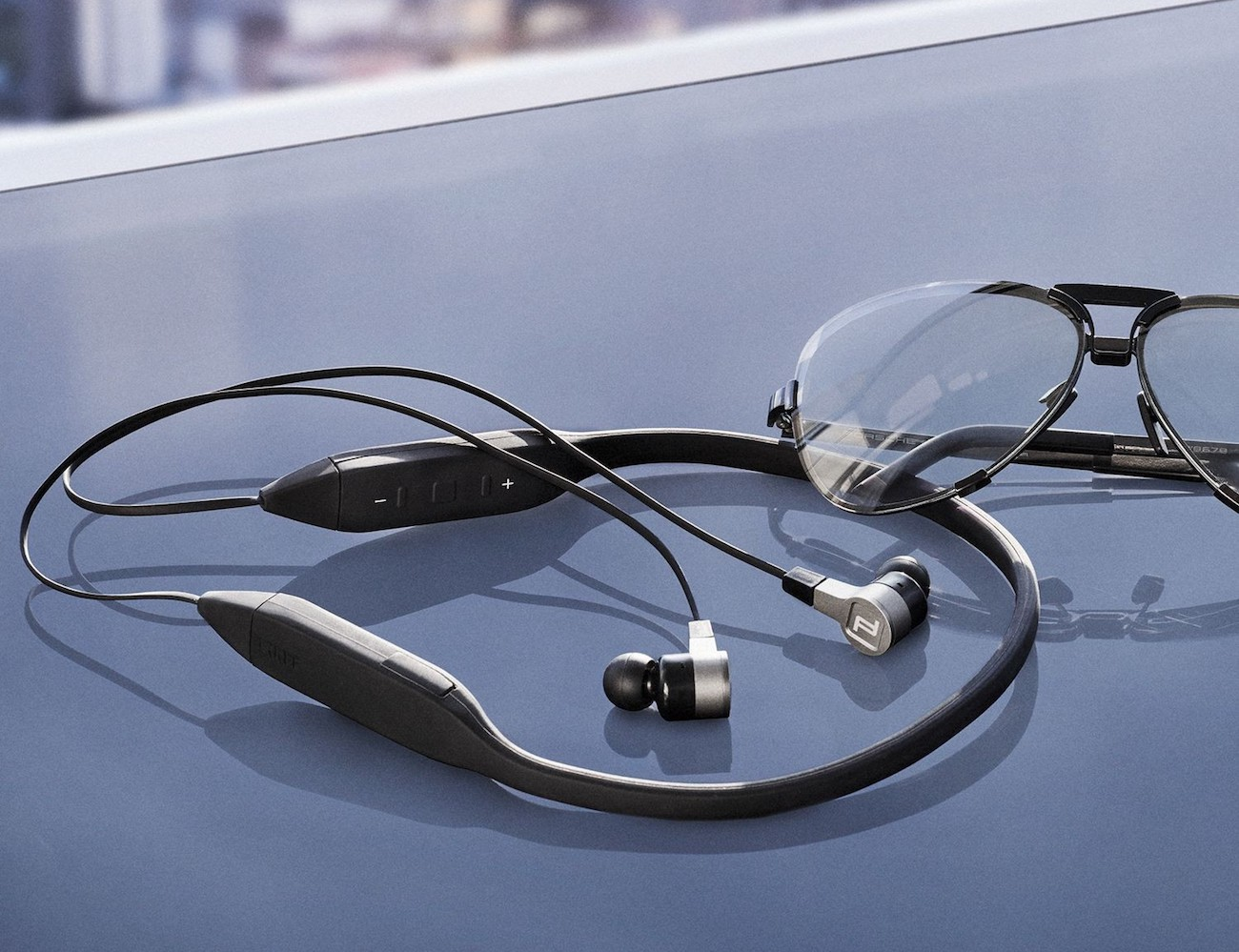 KEF x Porsche Design Motion One Bluetooth Earphones