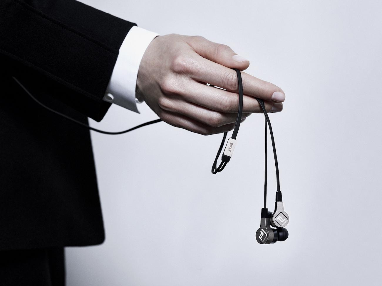 KEF x Porsche Design Motion One Bluetooth Earphones