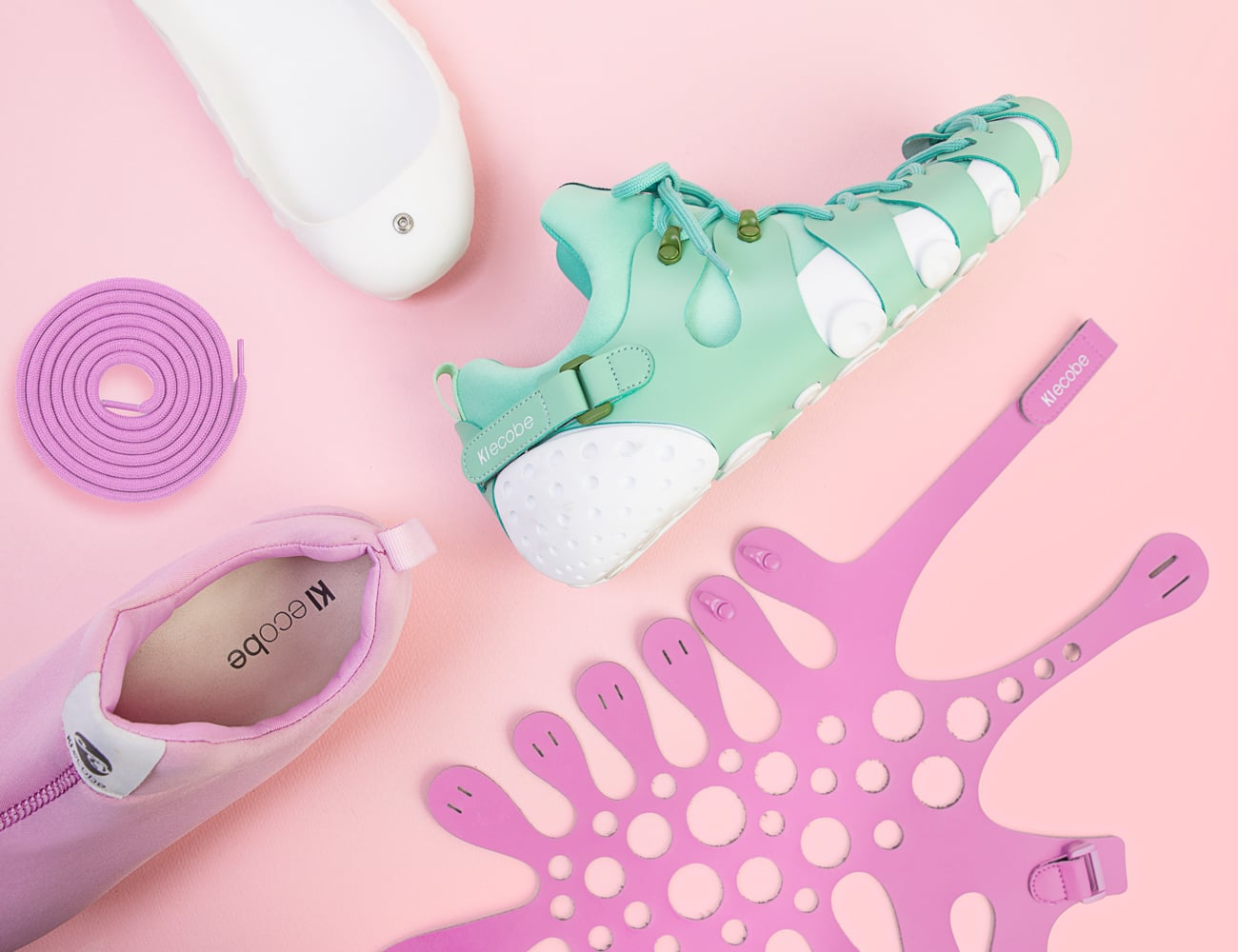 Ki ecobe Customizable Self-Assembled Footwear
