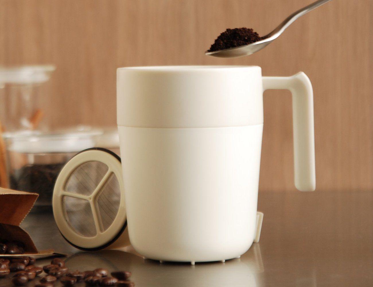 Kinto Cafe Press Instant Coffee Mug