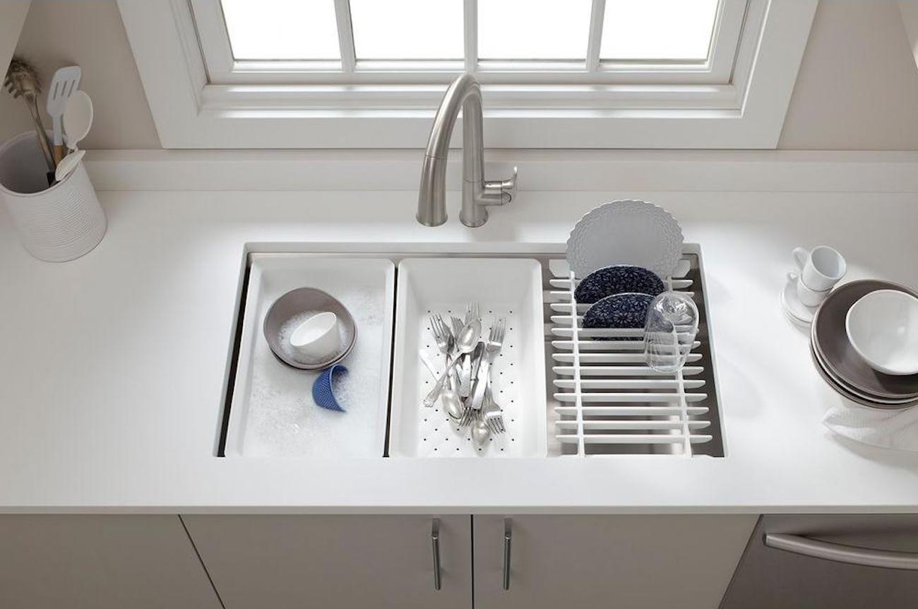 Kohler Prolific Undermount Kitchen Sink Kit
