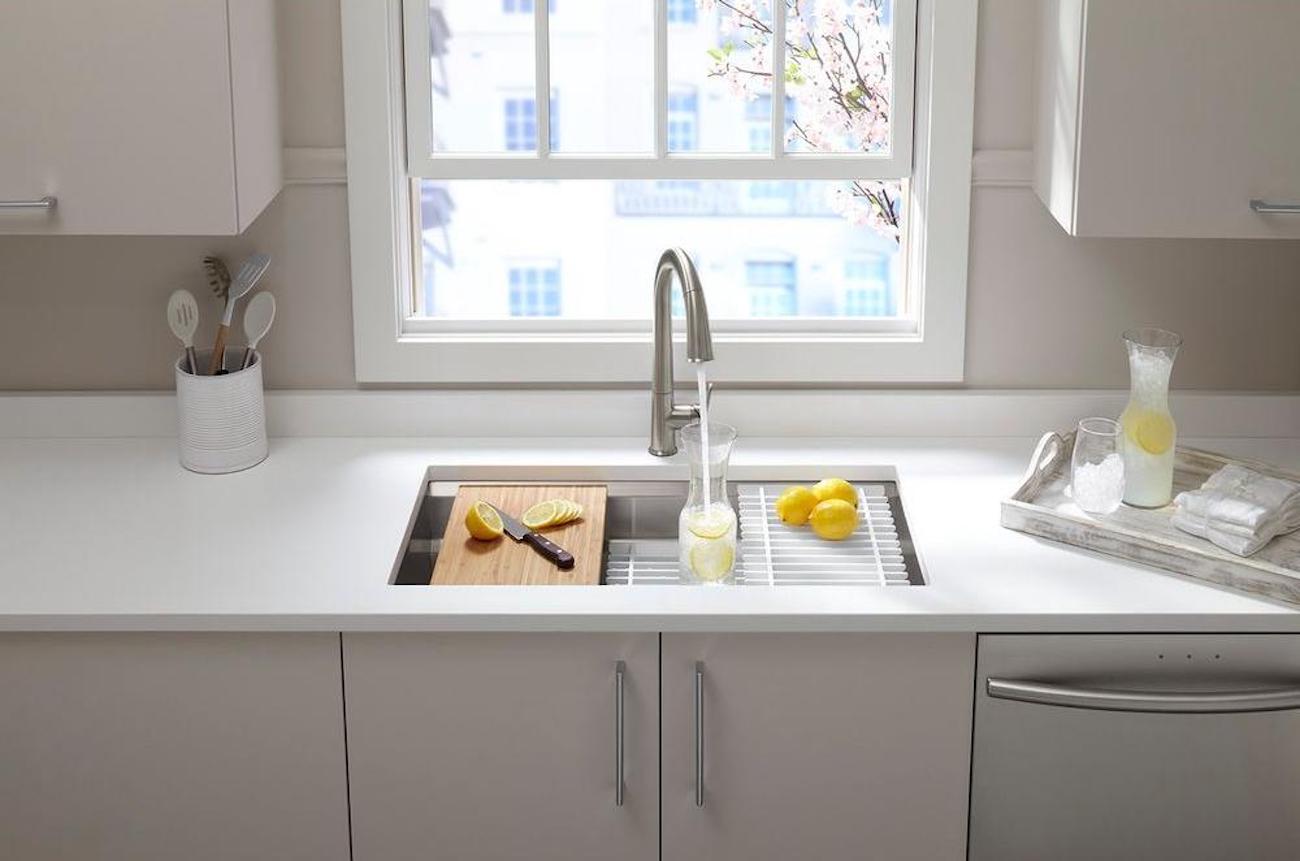 Kohler Prolific Undermount Kitchen Sink Kit