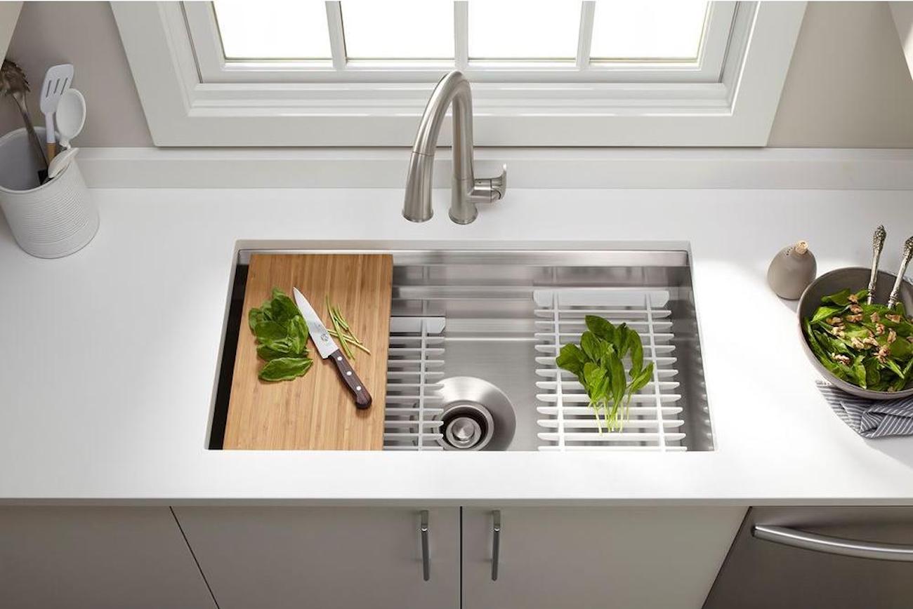 Kohler Prolific Undermount Kitchen Sink Kit » Gadget Flow