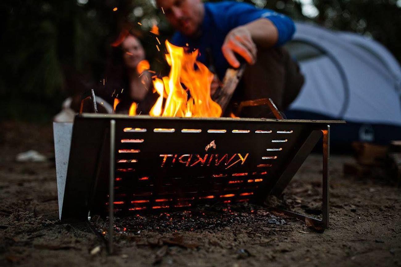 Kwik-Pit Portable Steel Firepit