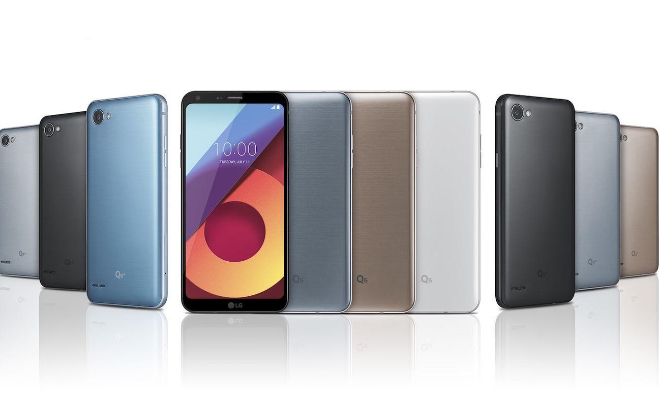 LQ Q6 FullVision Display Smartphone