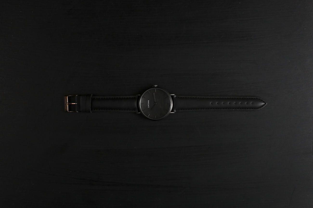 LACQNA Lumos Classic Minimalist Watch