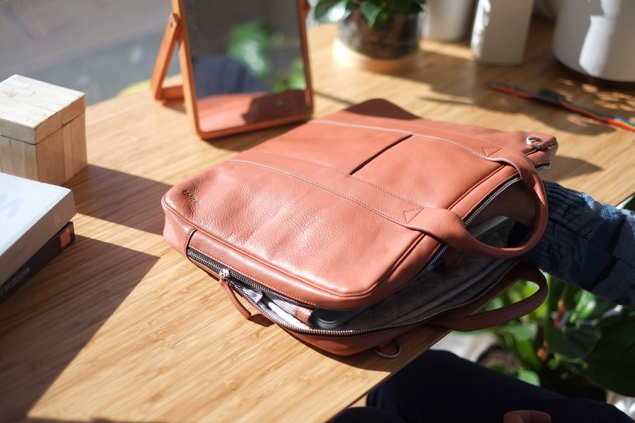 Lincoln Leather Laptop Briefcase