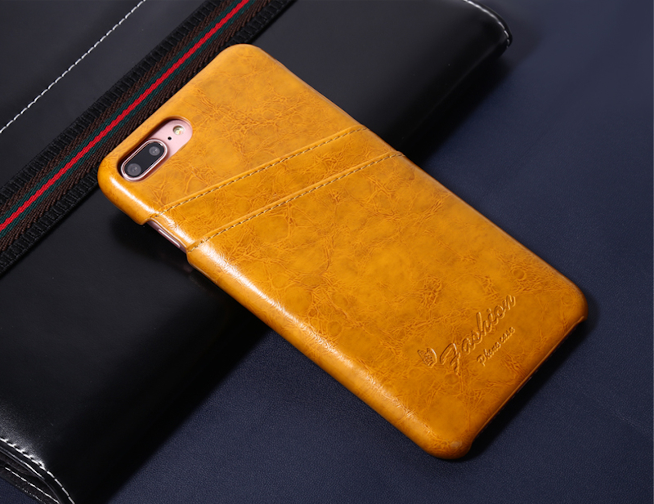 Luxury iPhone Wallet Case