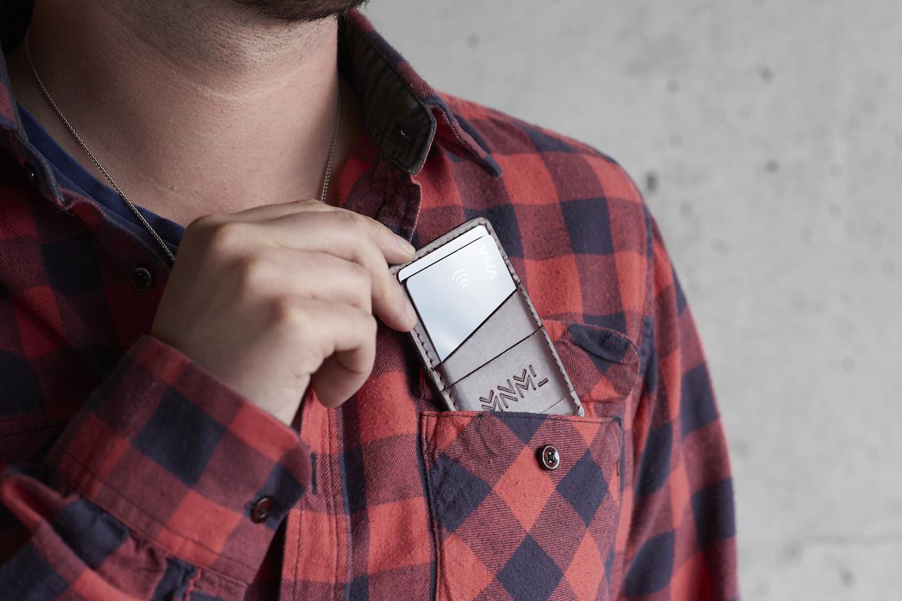 MNML Ultra-Slim RFID Leather Wallet