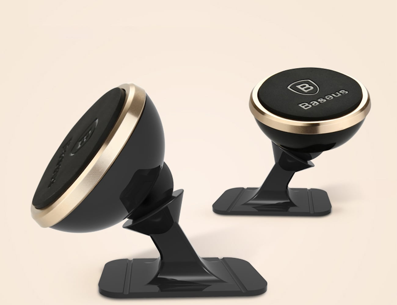 Baseus 360-Degree Magnetic Car Phone Holder