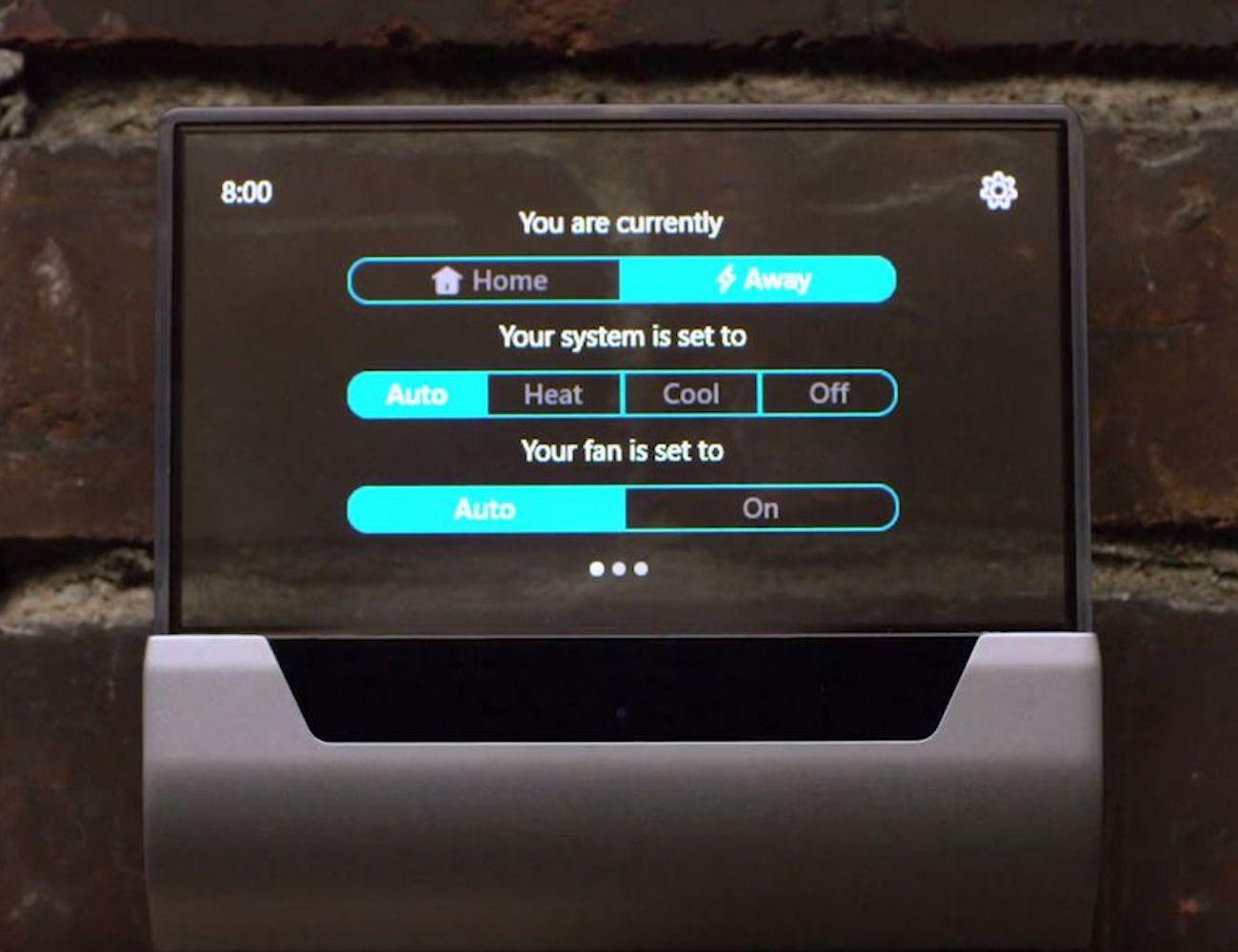 Microsoft GLAS Cortana Smart Thermostat