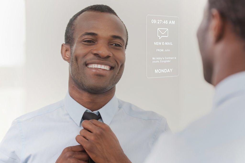 MirroCool+Personal+Assistant+Smart+Mirror