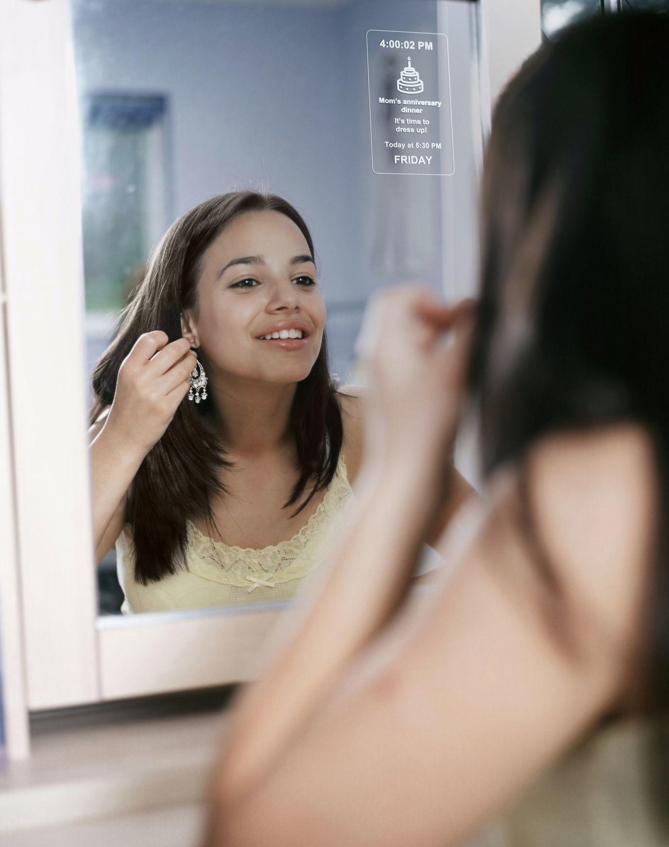 MirroCool Personal Assistant Smart Mirror