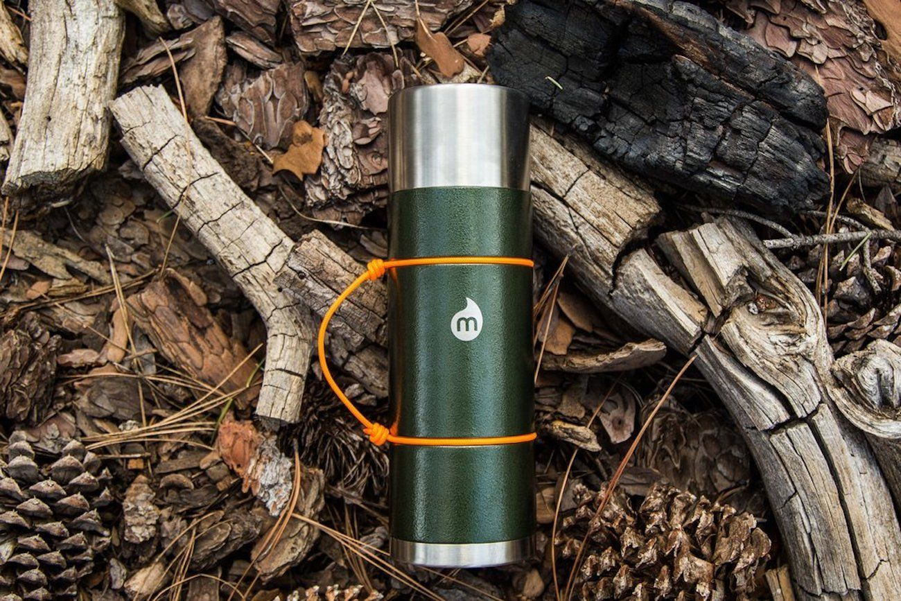 Mizu Life V10 Copper Water Bottle