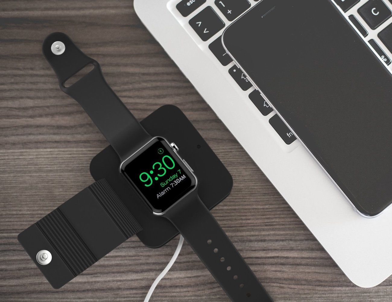 MoKo Silicone Apple Watch Charging Wallet
