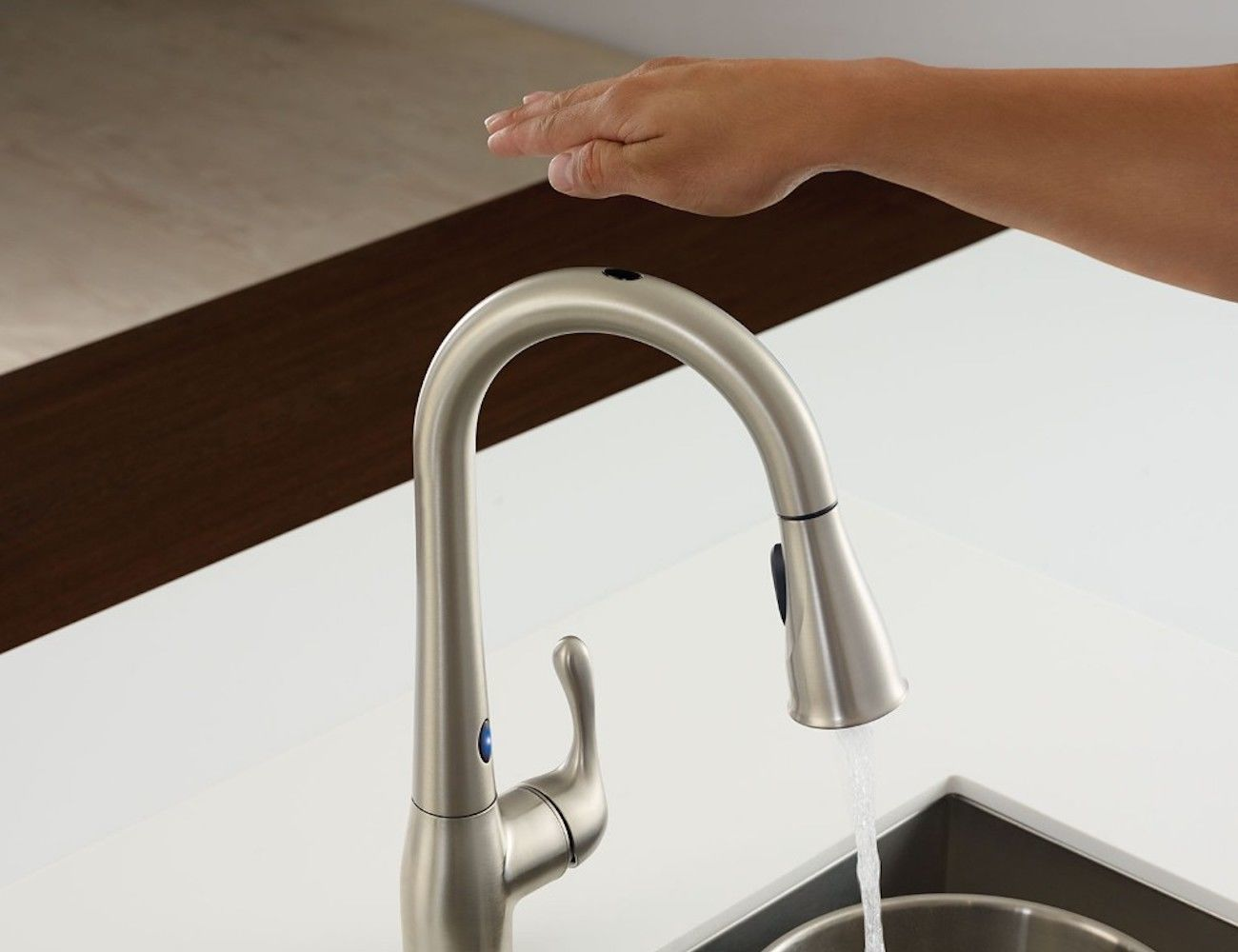 Moen Ridgedale Motion Activated Faucet