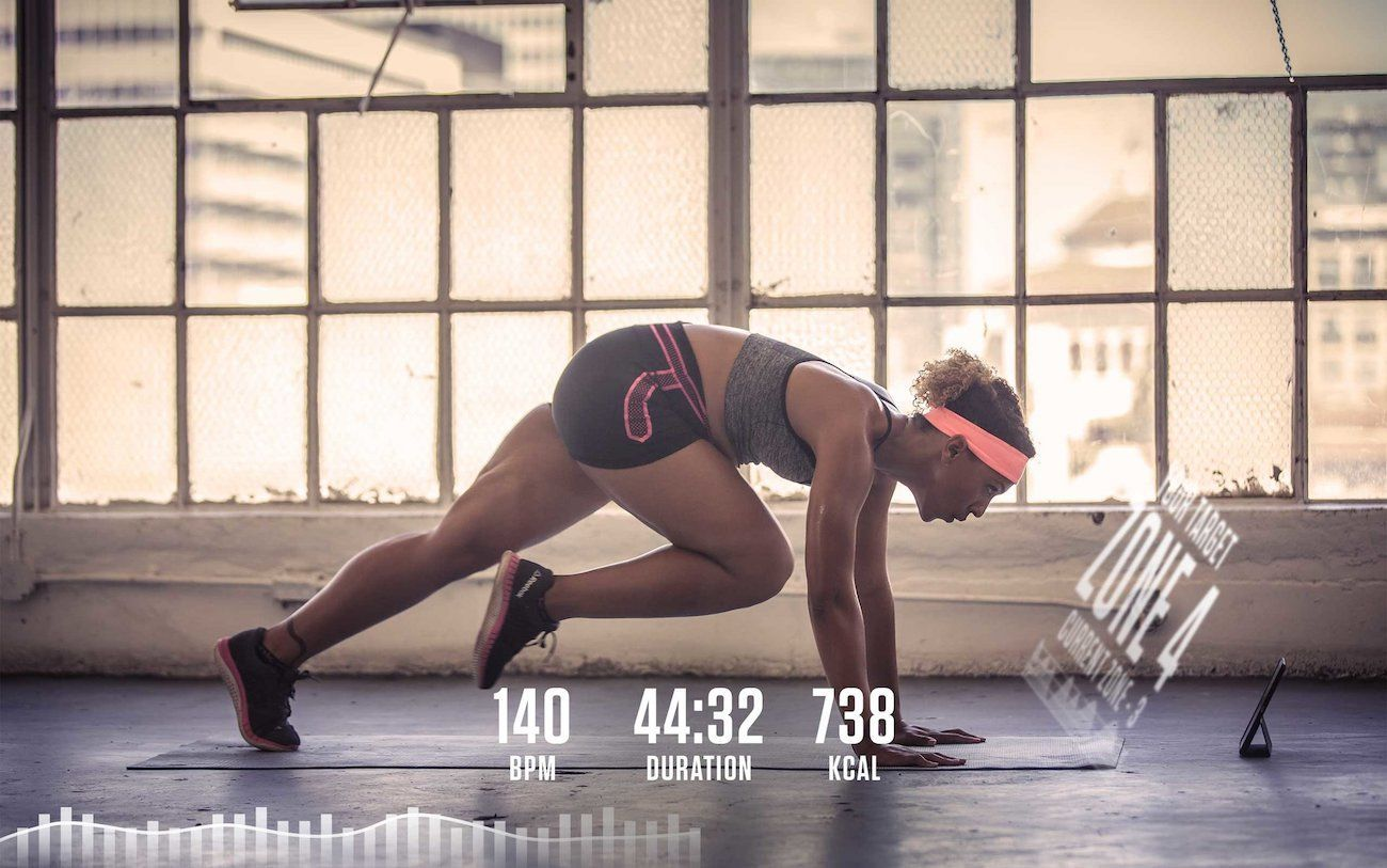 This Headband Guides You Through High Intensity Workouts