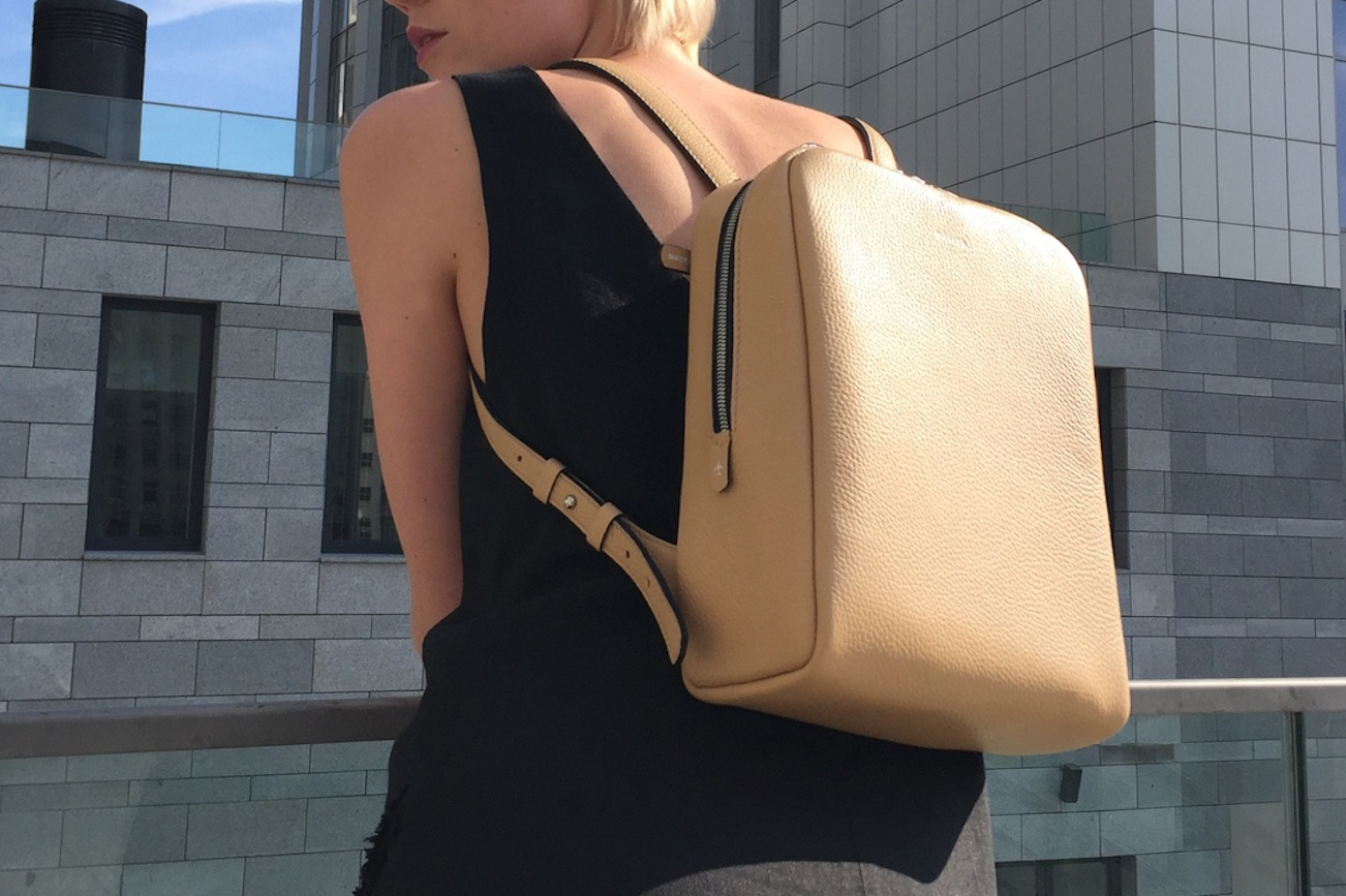 Moreca Voyage Leather Mini Backpack