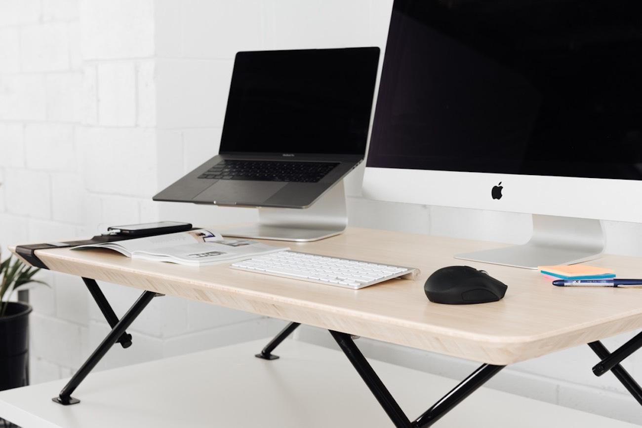 Movi Adjustable Height Standing Desk Gadget Flow