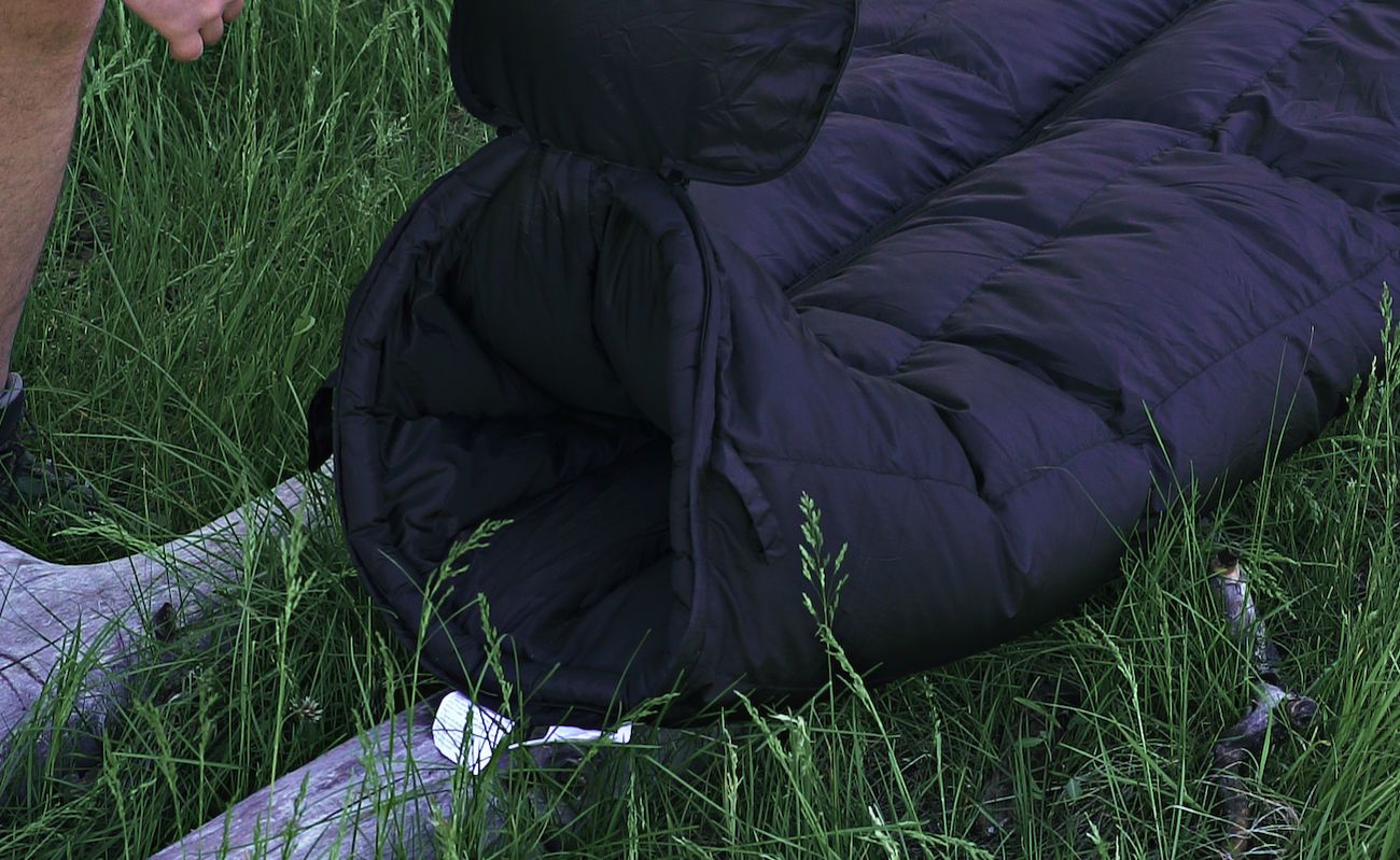 MummyPod Hammock and Ground Sleep System