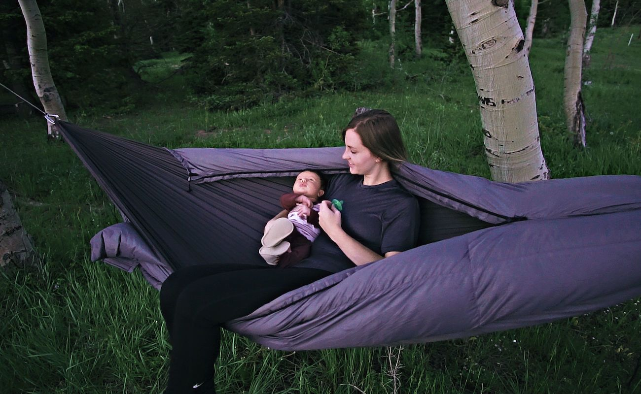 MummyPod Hammock and Ground Sleep System
