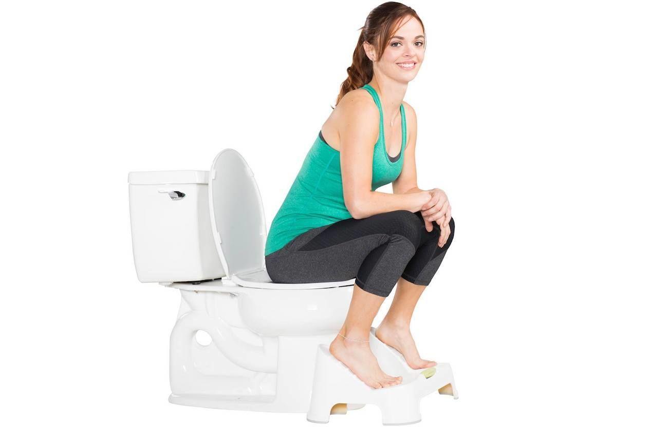 NadiaLabs Turbo Bathroom Toilet Stool