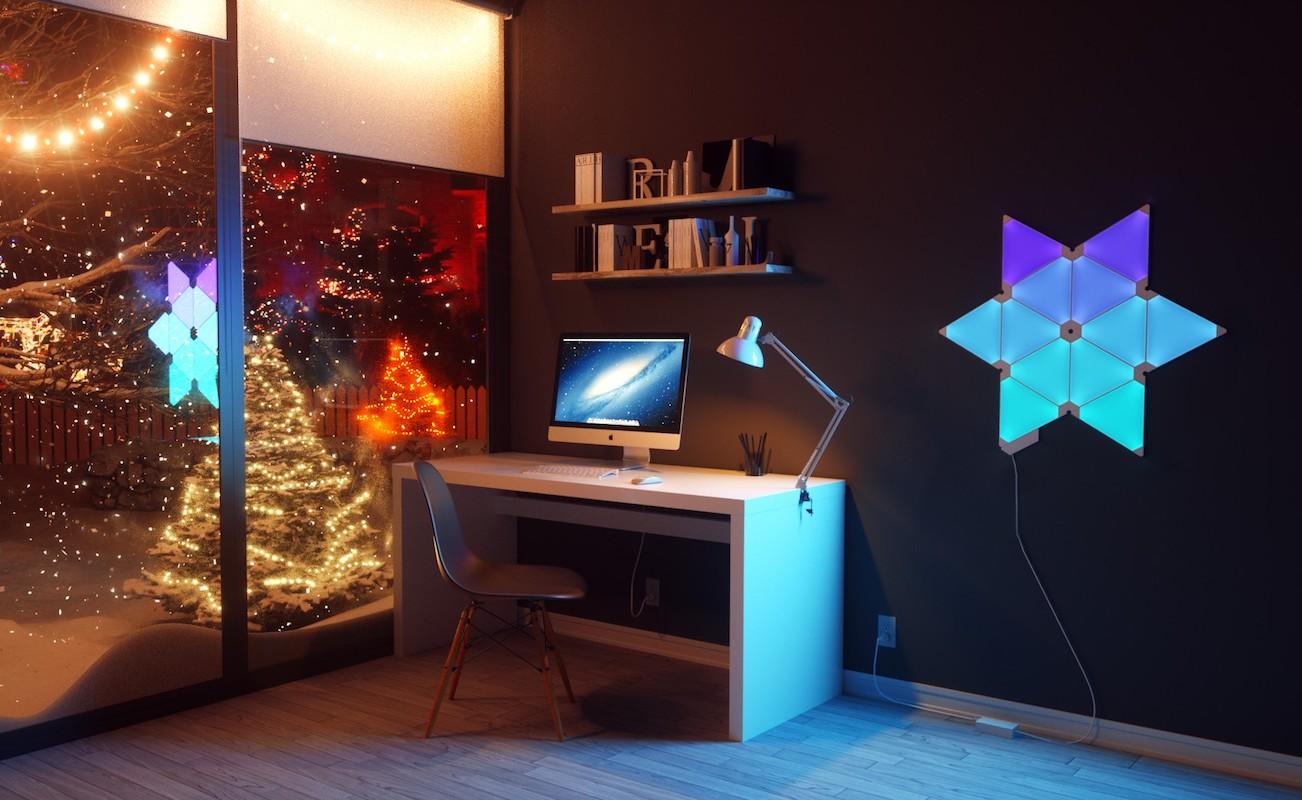 ... Nanoleaf Aurora Smart Lighting Kits ... & Nanoleaf Aurora Smart Lighting Kits » Gadget Flow azcodes.com