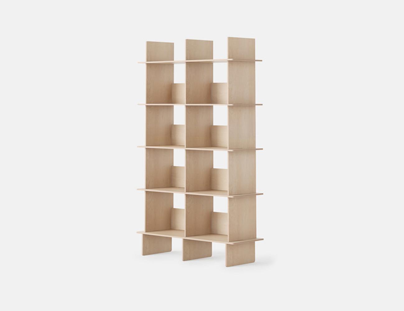 Open Desk Linnea Custom Bookshelf