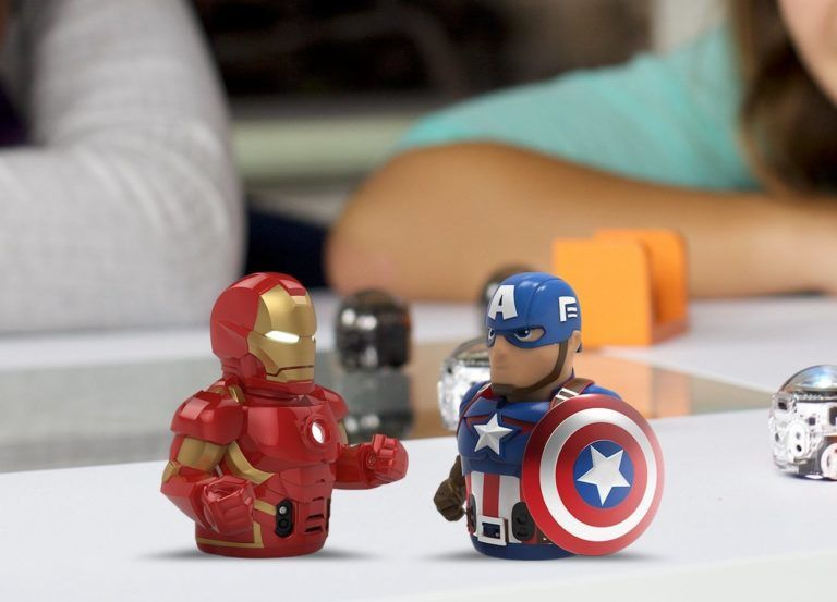 Ozobot+Iron+Man+Connectable+Smart+Robot+Skin