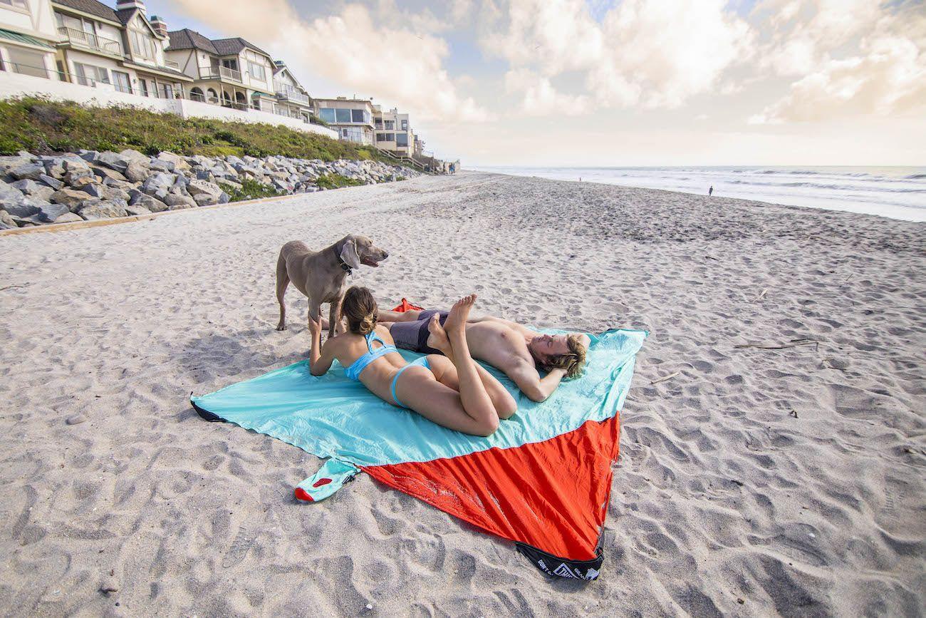 Parasheet Parachute Nylon Beach Blanket
