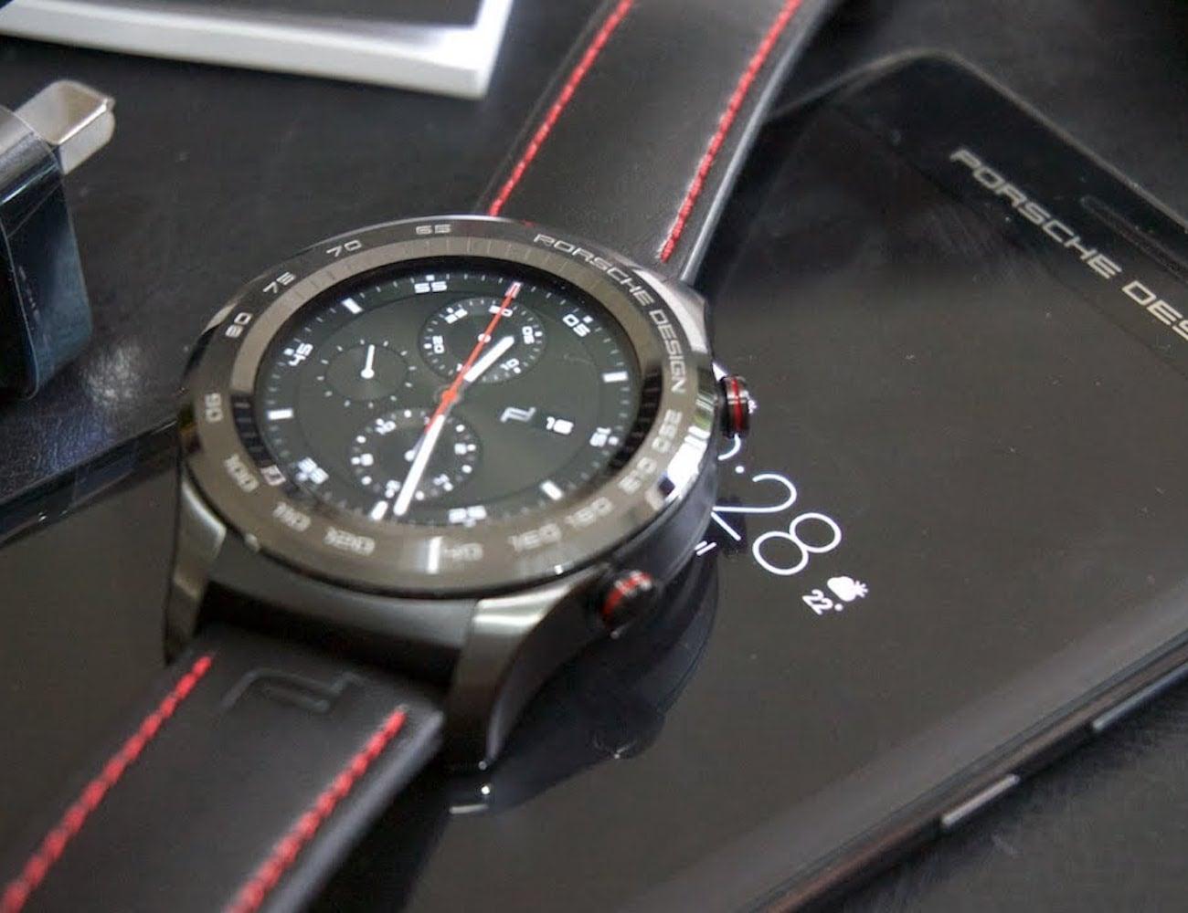 Porsche+Design+X+Huawei+Smartwatch