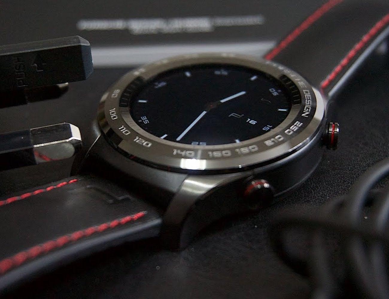 Porsche Design x Huawei Smartwatch