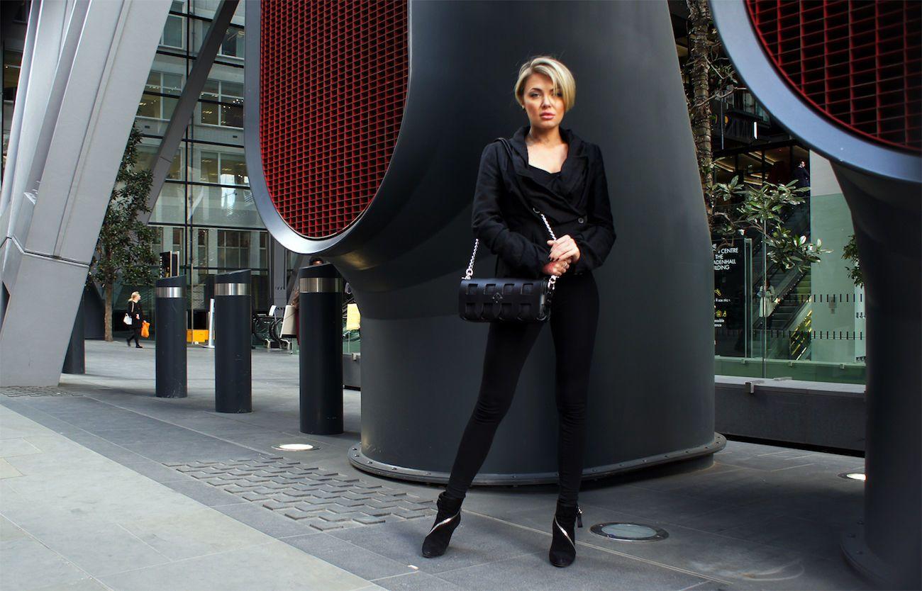 Portcullis Interchangeable Luxury Leather Handbag