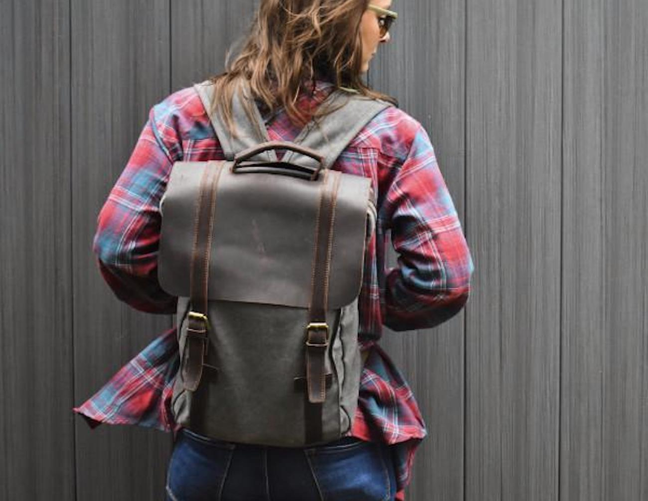 Protege+Classic+Canvas+Travel+Backpack