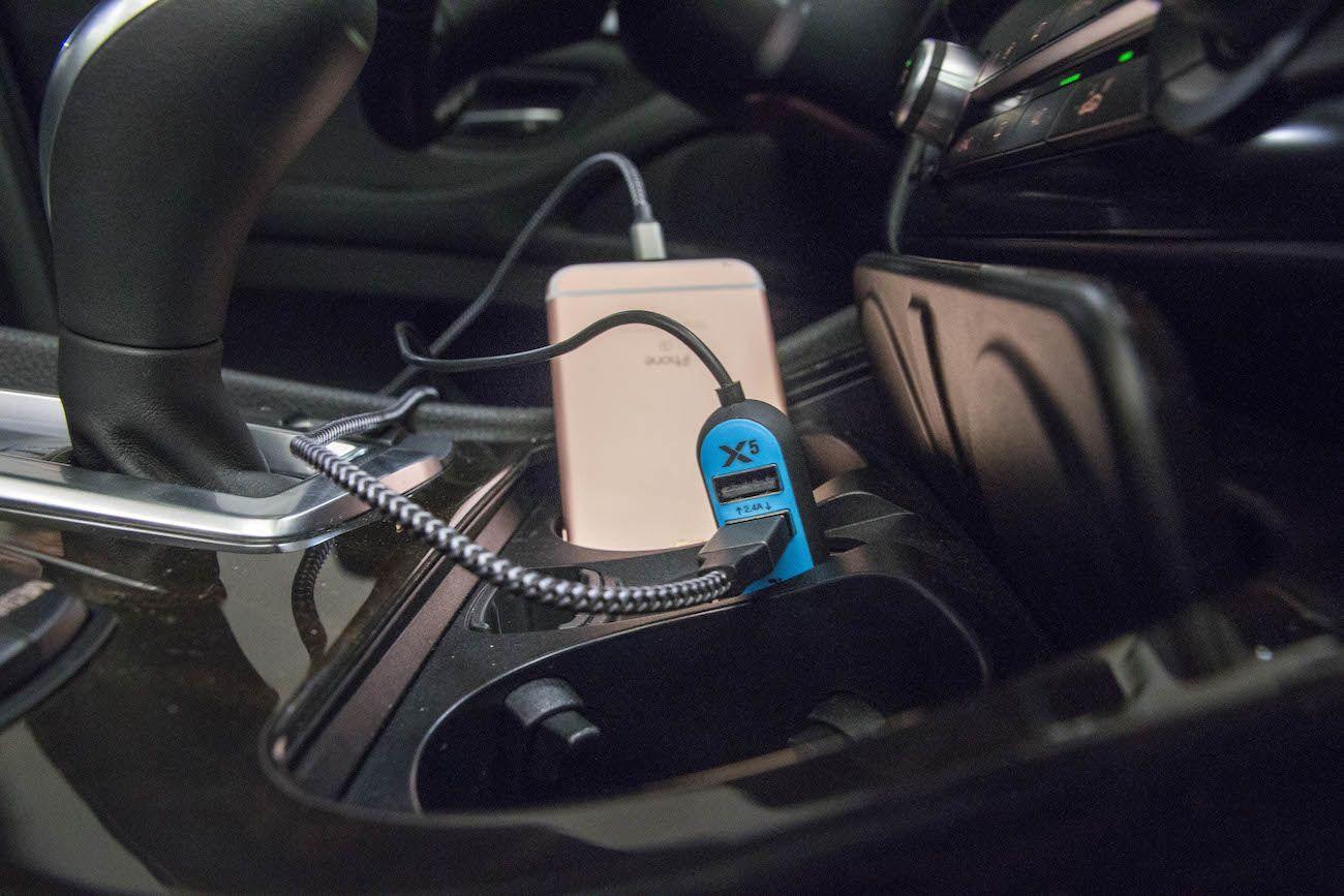 RapidX X5 Car Phone Charger