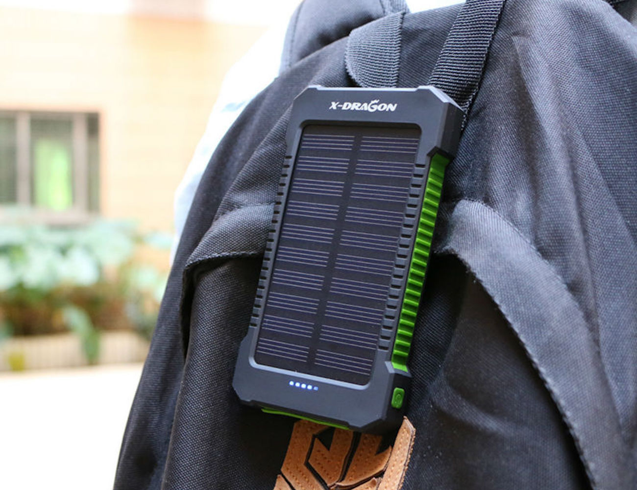 Rugged Portable Solar Charger