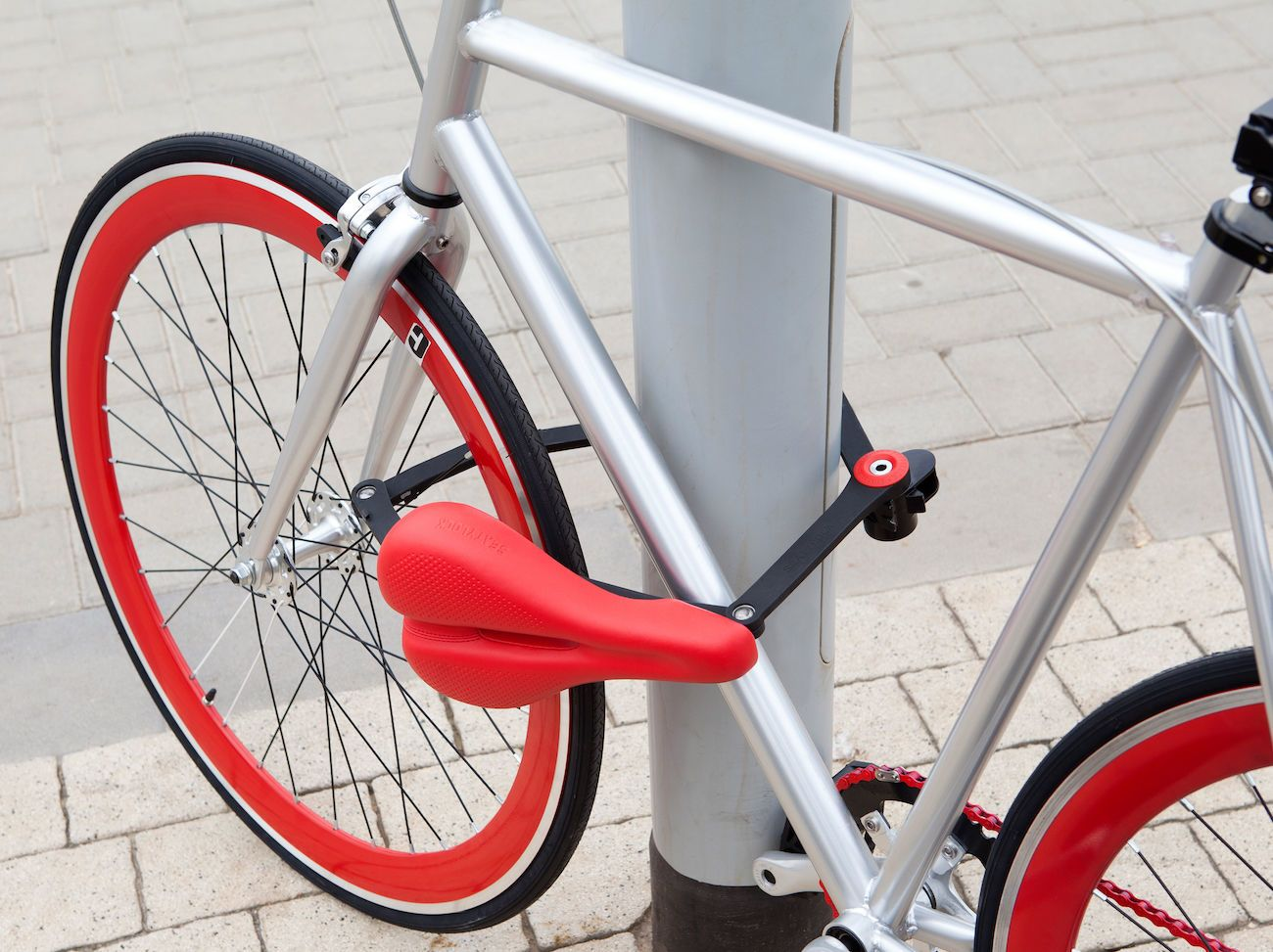 SEATYLOCK+Anti-Theft+Bicycle+Saddle