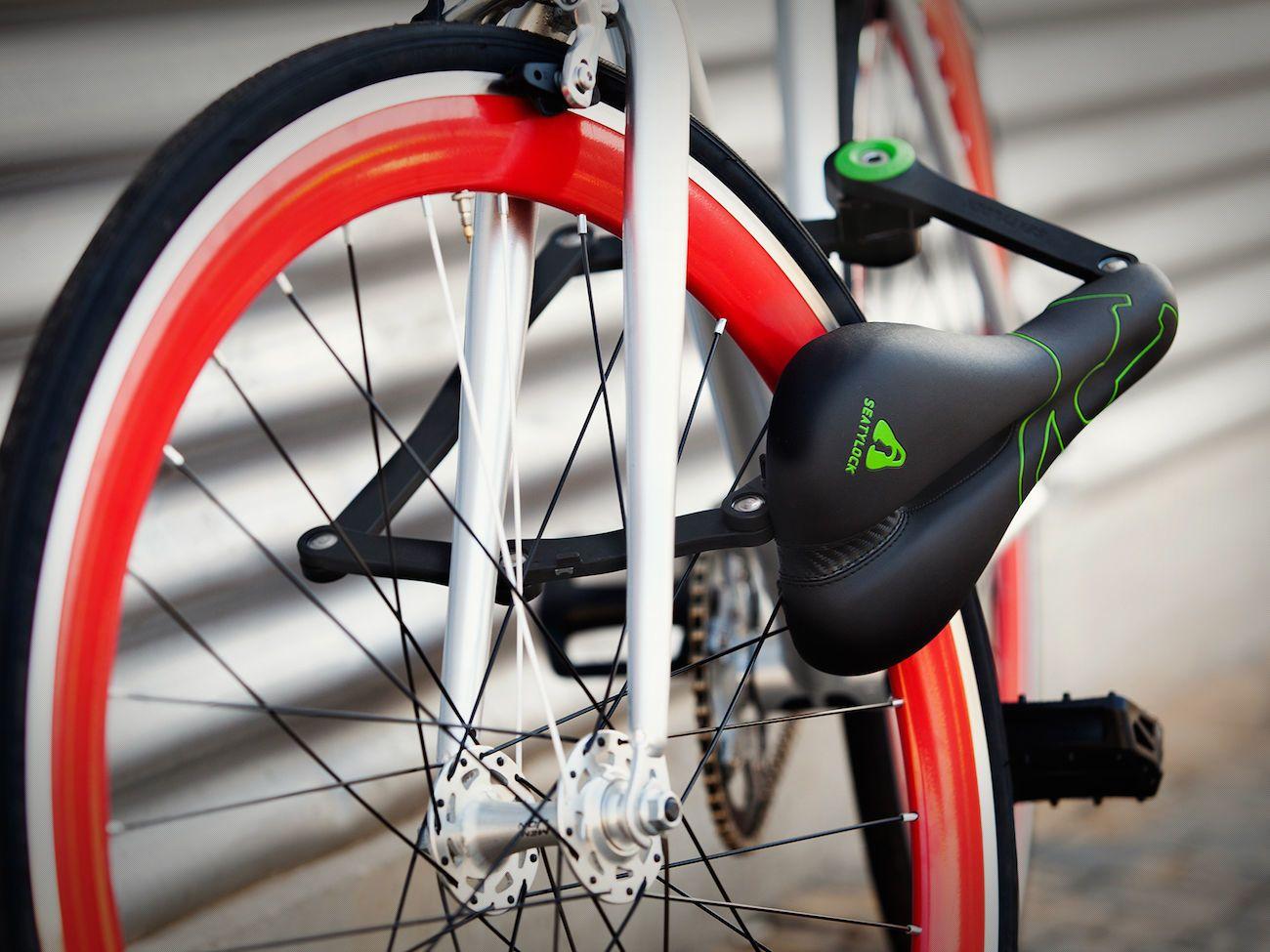 SEATYLOCK Anti-Theft Bicycle Saddle