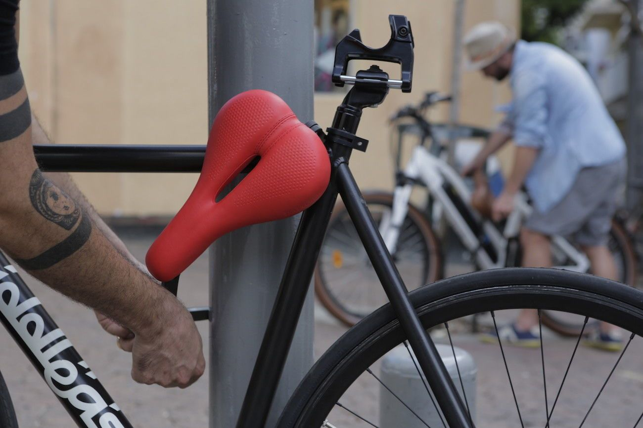 SEATYLOCK Anti-Theft Bicycle Saddle