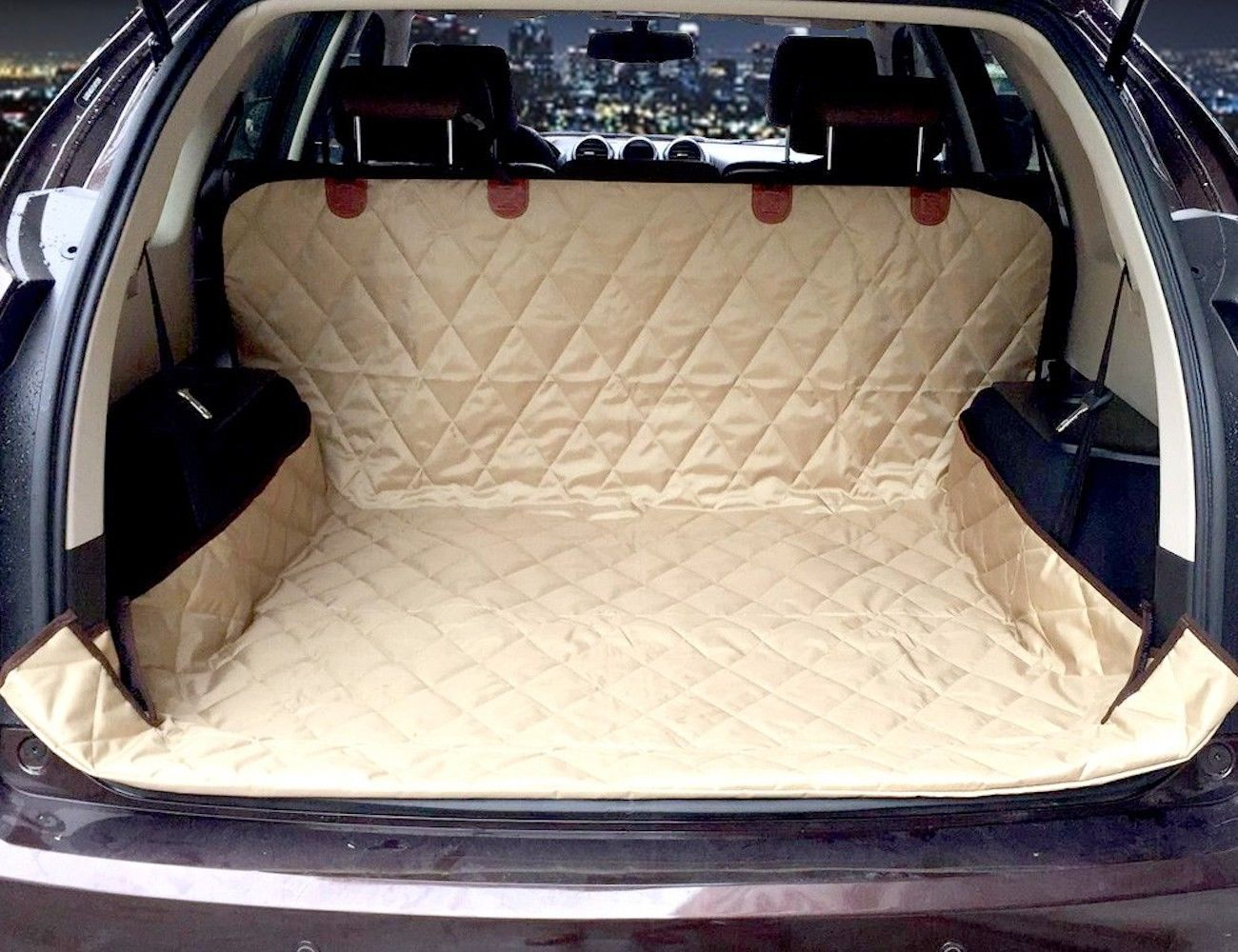 SUV+Car+Trunk+Mat+For+Pets